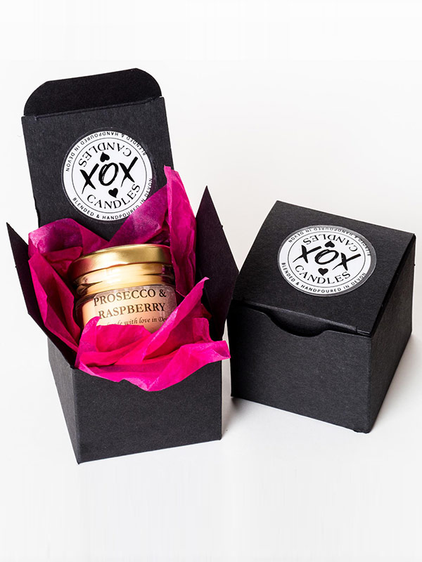 Small Scented Candle in a gift box