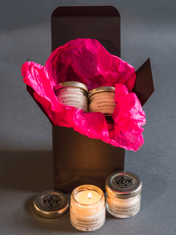 pack of 4 candles
